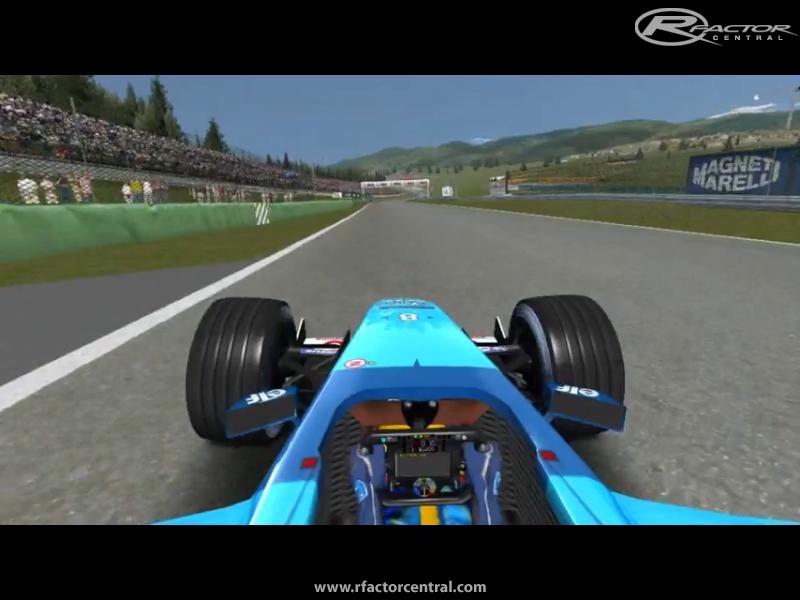 F1 2001 Rfactor Demo Mods - letterins