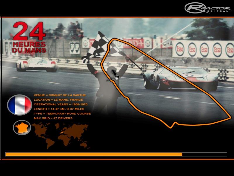 Rfactor Le Mans 1970 Track - pokspixel