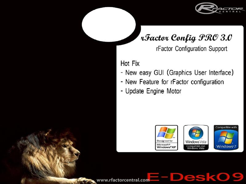 Download erro rfactor config utility - JosiahSabo's blog