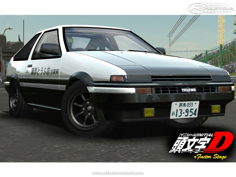 initiald ae86 mod rfactor stage by natsuki rfactor cars rfactor central. Black Bedroom Furniture Sets. Home Design Ideas