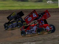 Boz Racing Sprints Cars screenshot by WoO Boz4b
