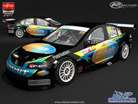 2011 Fujitsu Development Series Skin Pack V8FU Addon screenshot by ESP(AUS)