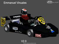European Superkart Championship 2011 screenshot by rfactorguy99