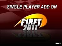 Single Player F1RFT2011 Add On screenshot by 0