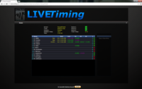 Estikay Entertainment Live Timing screenshot by Stephane Rouault