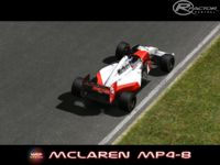 F1 Historic McLaren MP4 8 screenshot by WCP series