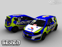 Sonic Racing Cup Uruguay screenshot by Seven Modding Desing Racing
