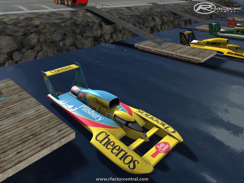 Unlimited Hydroplane Mod Screenshots | rFactor WIP Mods| rFactor ...