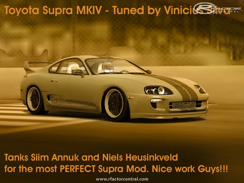 Toyota Supra MKIV Screenshot By Vynny Silva