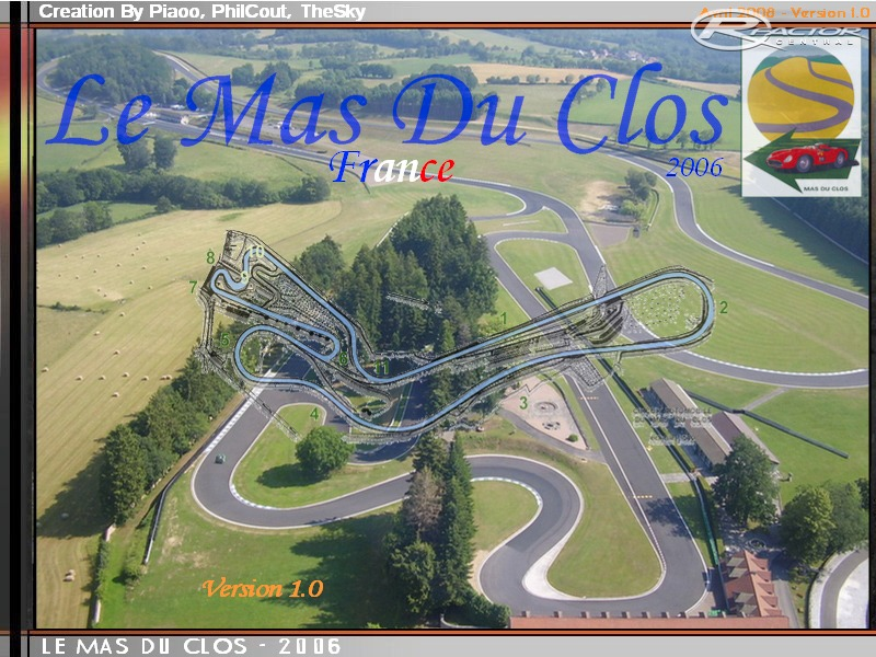 le mas du clos 2006 by piaoo thesky philcout rfactor tracks rfactor central. Black Bedroom Furniture Sets. Home Design Ideas