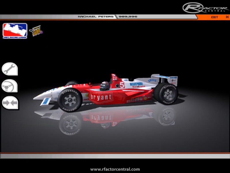 1996 Indy Racing League 0.30 by Michael Peters | rFactor WIPs ...