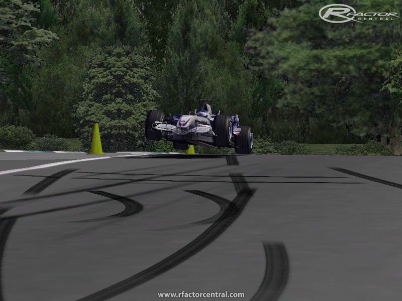 Lime Rock Park 110 by Ewan Uzzi Chalker  rFactor Tracks