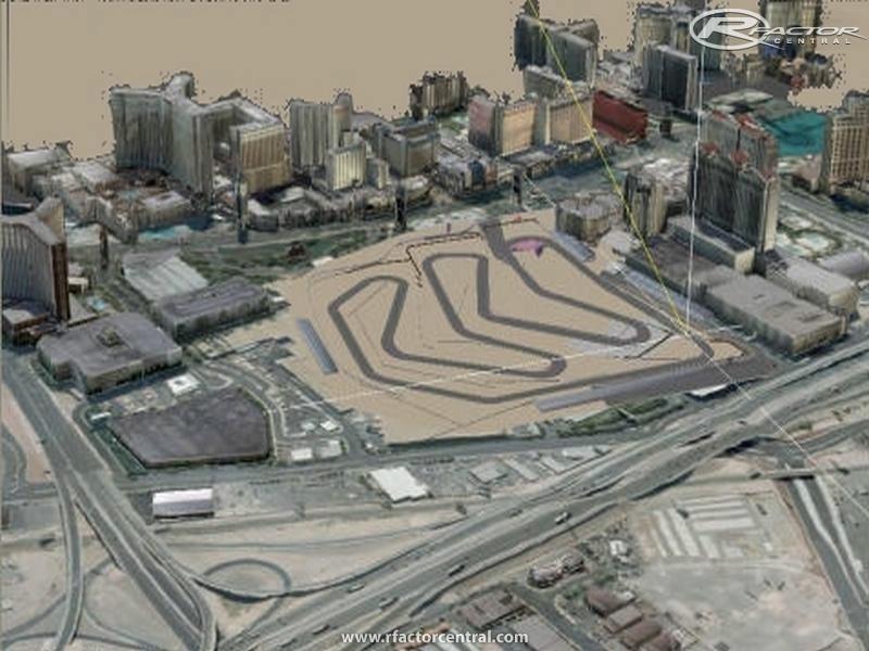 Grand Prix Las Vegas >> CAESARS PALACE F1 1981 1982 0.00 by Nericksenna | rFactor Tracks | rFactor Central