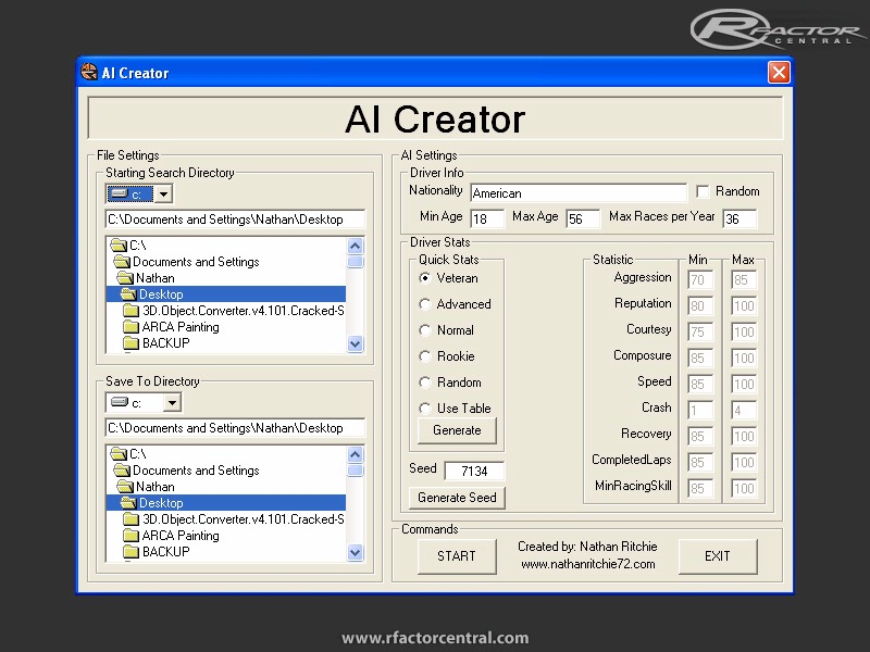 Rfactor aiw editor for windows 10 for R factor windows