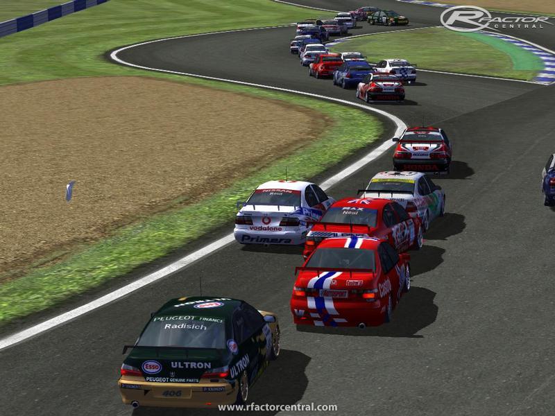 1998 British Touring Car Championship British Super Touring Cars 1998 160 by Evo monkey rFactor Cars