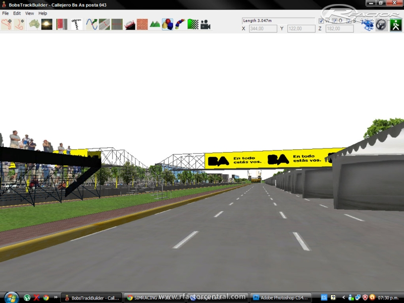 circuito callejero de buenos aires 2013 para rfactor