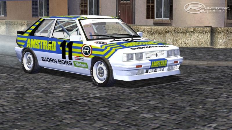 Jaime Correcaminos Sornosa Renault 11 Turbo 1986 100 By Jose Lopez