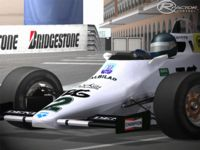 F1 Historic Williams FW08C screenshot by WCP series