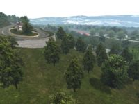 Mountain Florest (rFactor2) screenshot by rFC