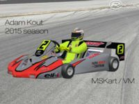 European Superkart Championship 2014 and 2015 screenshot by rfactorguy99